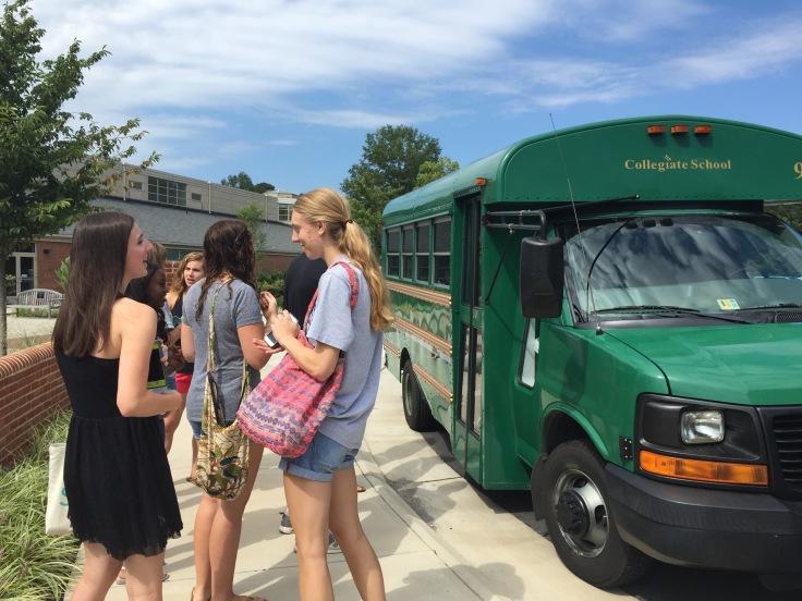Seniors prepare for their first IELC field trip